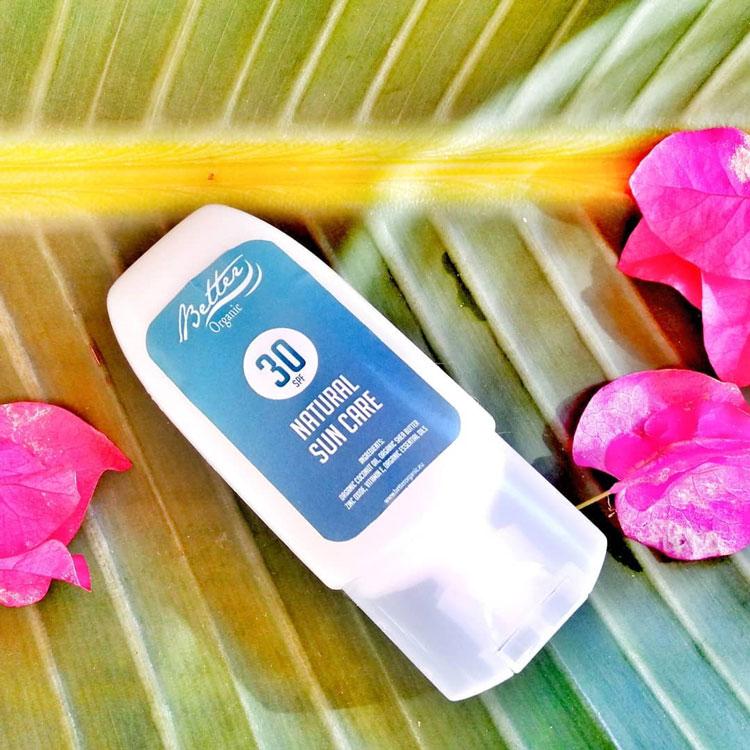 Natural Sun Cream Better Organic